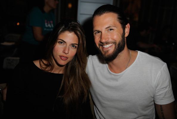 Stephanie De Monaco and Chad Campbell attend Mondrian South Beach