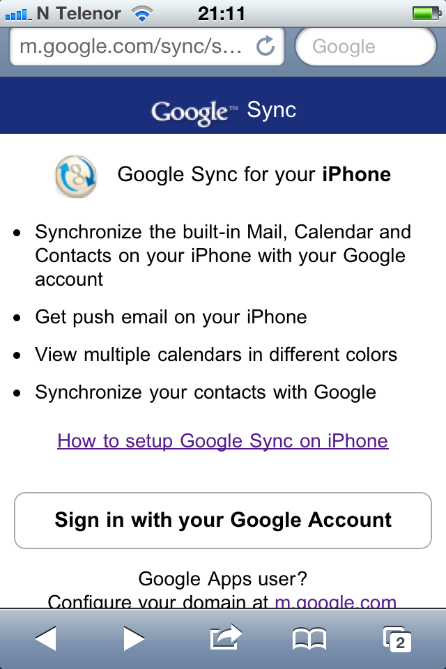 how to add google calendar to iphone how to sync calendars with iphone 4 19819