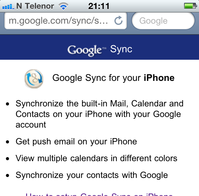 how to share google calendar on iphone how to sync calendars with iphone 4 20326
