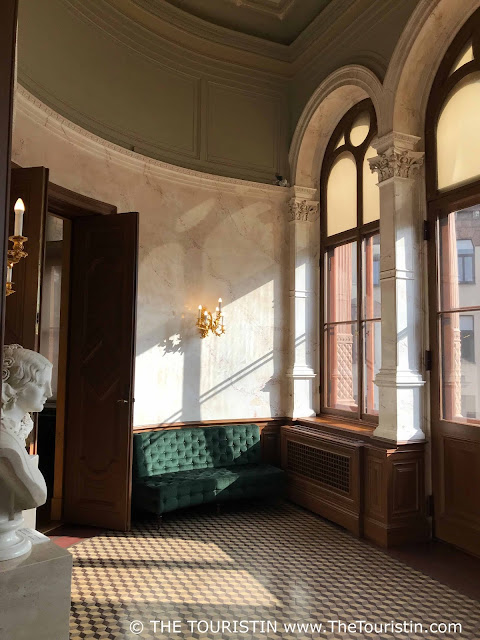 Art Museum Riga Bourse sitting room balcony room