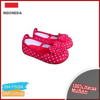 FS094 Sepatu Balita Bulu BMGShop