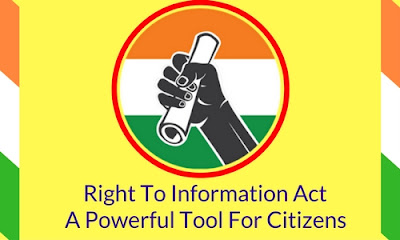 Right to Information Act Application Form Download