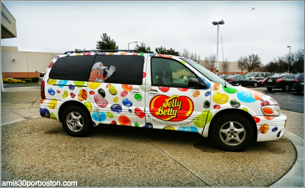 Jelly Belly: Coche