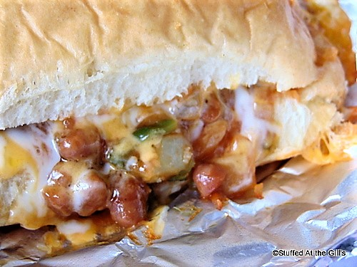Baked Bean Oven Sub Sandwiches