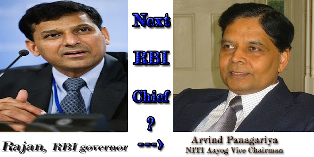 NITI Aayog Vice Chairman Arvind Panagariya May be the Next RBI Governor after Rajan