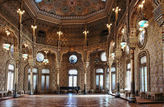Salão Árabe no Palácio da Bolsa