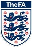 FA badge 3 lions