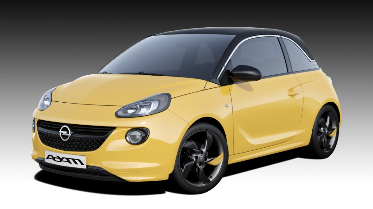 riwal888 blog new opel adam combines fashion with. Black Bedroom Furniture Sets. Home Design Ideas