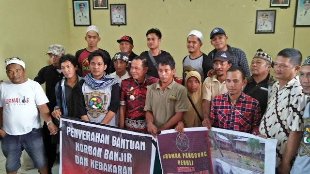 PJ Lutra Salurkan Bantuan Kepada Korban Kebakaran