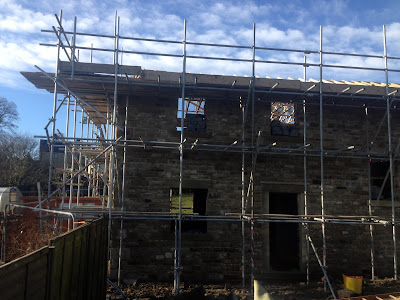 New Build Construction Scaffolding Highforce