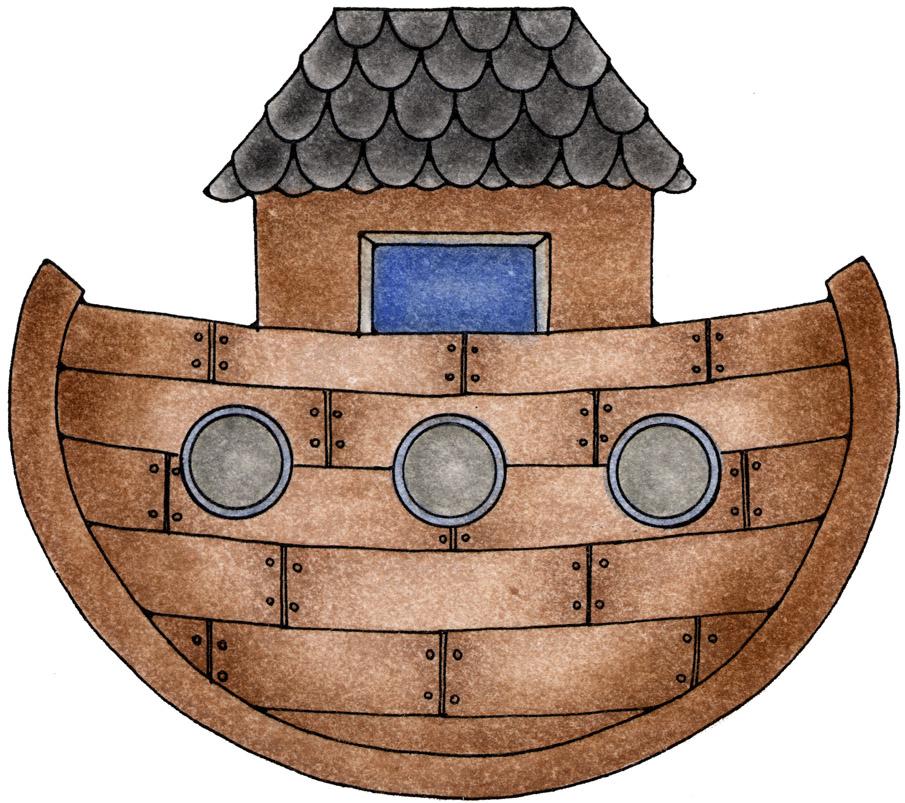 Evangelismo Infantil Arca De Noe Figuras Arca De Noe Desenho