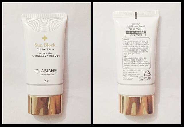 Clabiane Sun Block SPF 50+ / PA+++