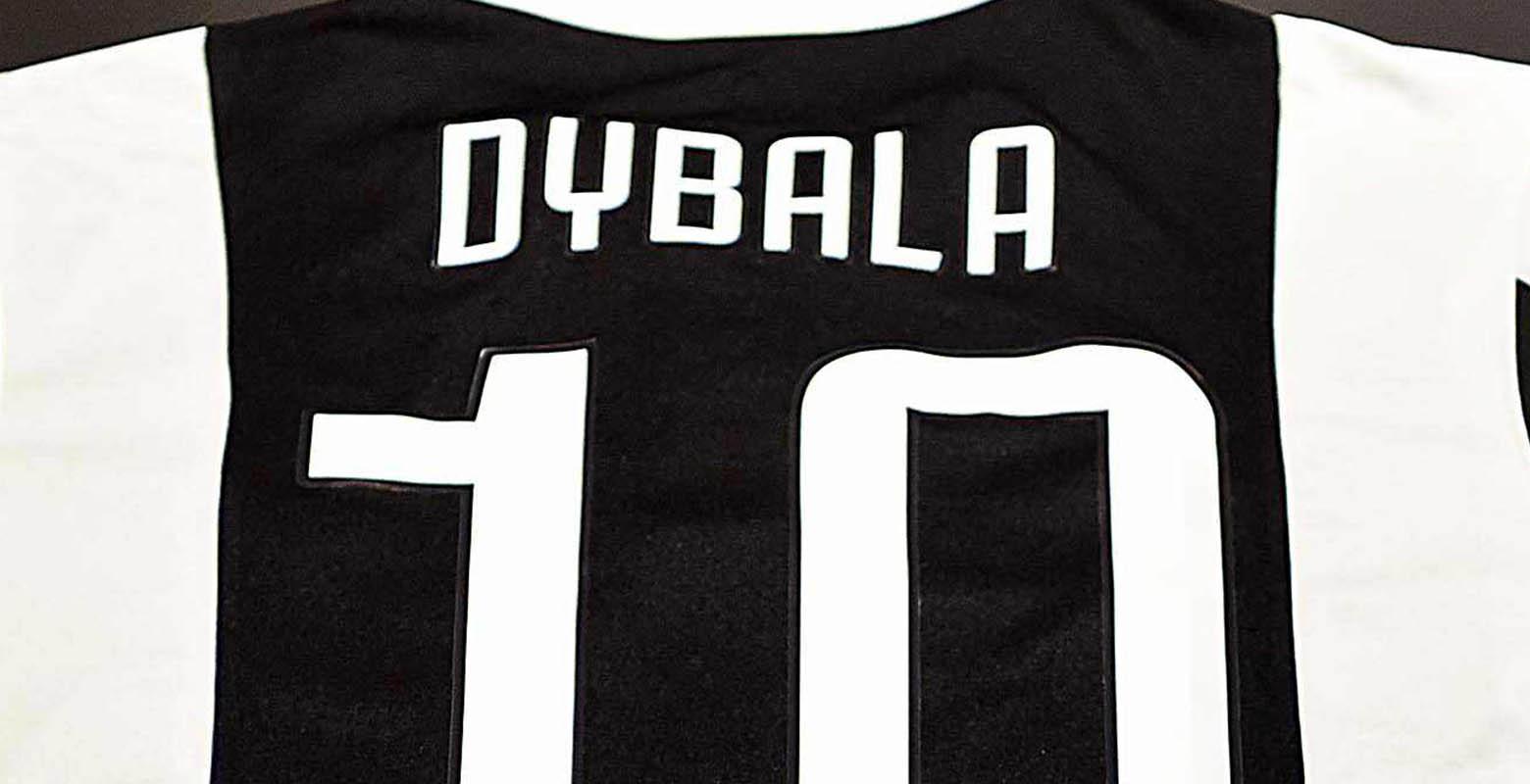 size 40 14845 65e20 Juventus Unveil New Dybala Shirt Number - Footy Headlines