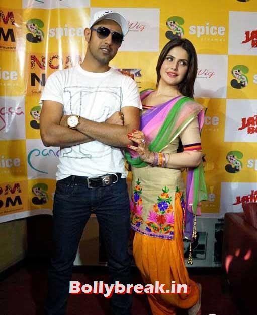 Gippy Grewal and Zarine Khan