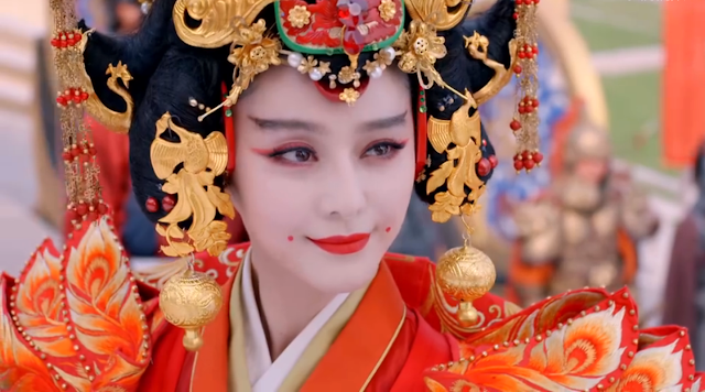 Fan Bing Bing in Empress of China, an epic historical c-drama