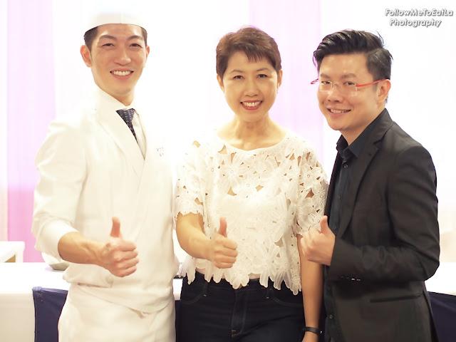 All Smiles With Chef Sogo Sasaki, famed IZUU restaurant in Kyoto & Xavier Mah, The X-Man of  X-Group