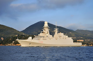 "Fremm ""Federico Martinengo"" delivered to the Italian Navy"
