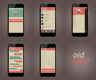 BBM Mod Style OLD v 2.9.0.51 Apk + DP No Crop