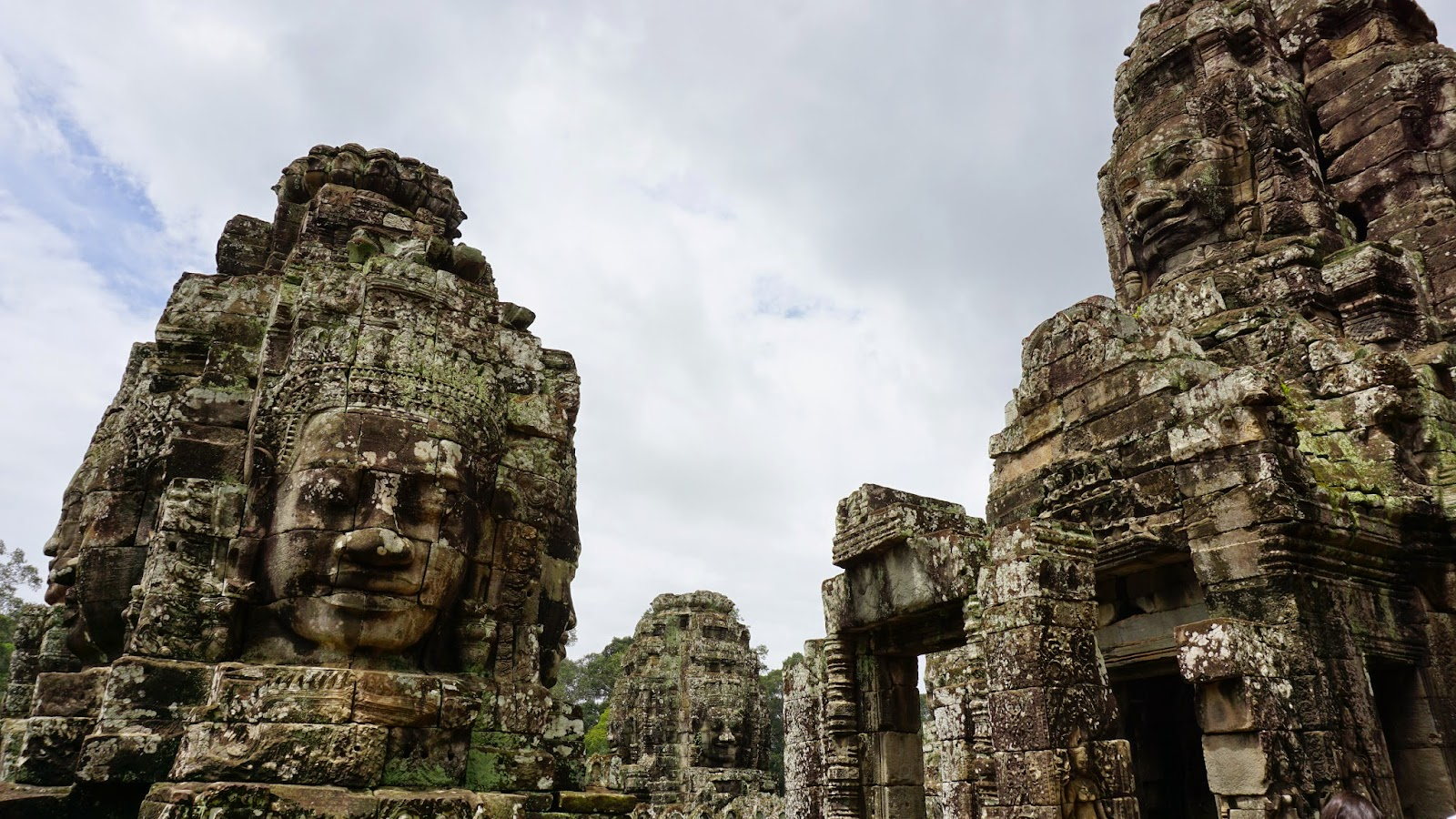 Prasat Bayon, the temple of many faces