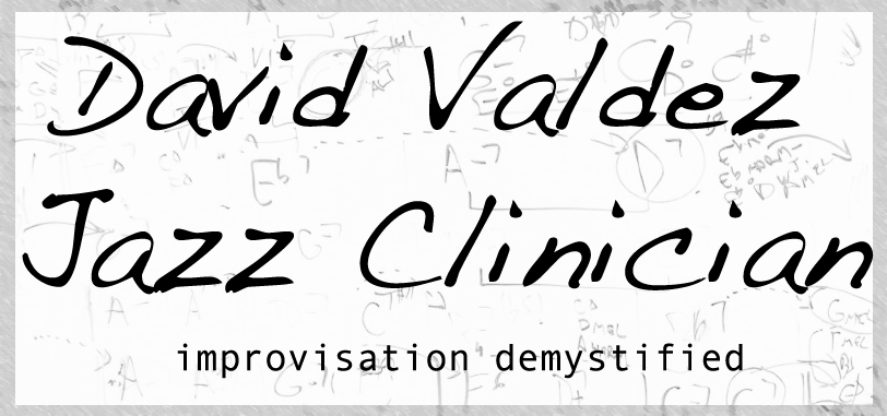 Jazz clinician David Valdez