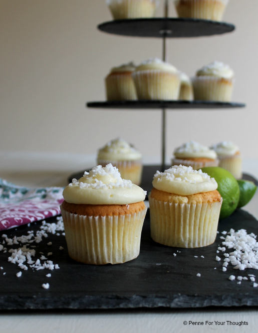 Coconut and Lime Cupcake Recipe