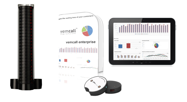 Vemcall Paging System That Measures Waiting Time Of Your