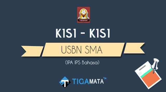 Kisi - Kisi USBN SMA 2019 Semua Mata Pelajaran (IPA IPS Bahasa)