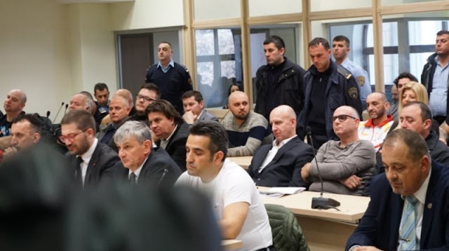 Persons of April 2017  violence in Macedonian Parliament sentenced