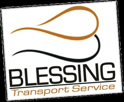 logo blessing transport service