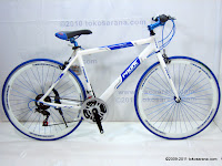 1 Sepeda Hybrid PACIFIC Instantaneous Enaction 1.0 18 Speed Shimano 700C