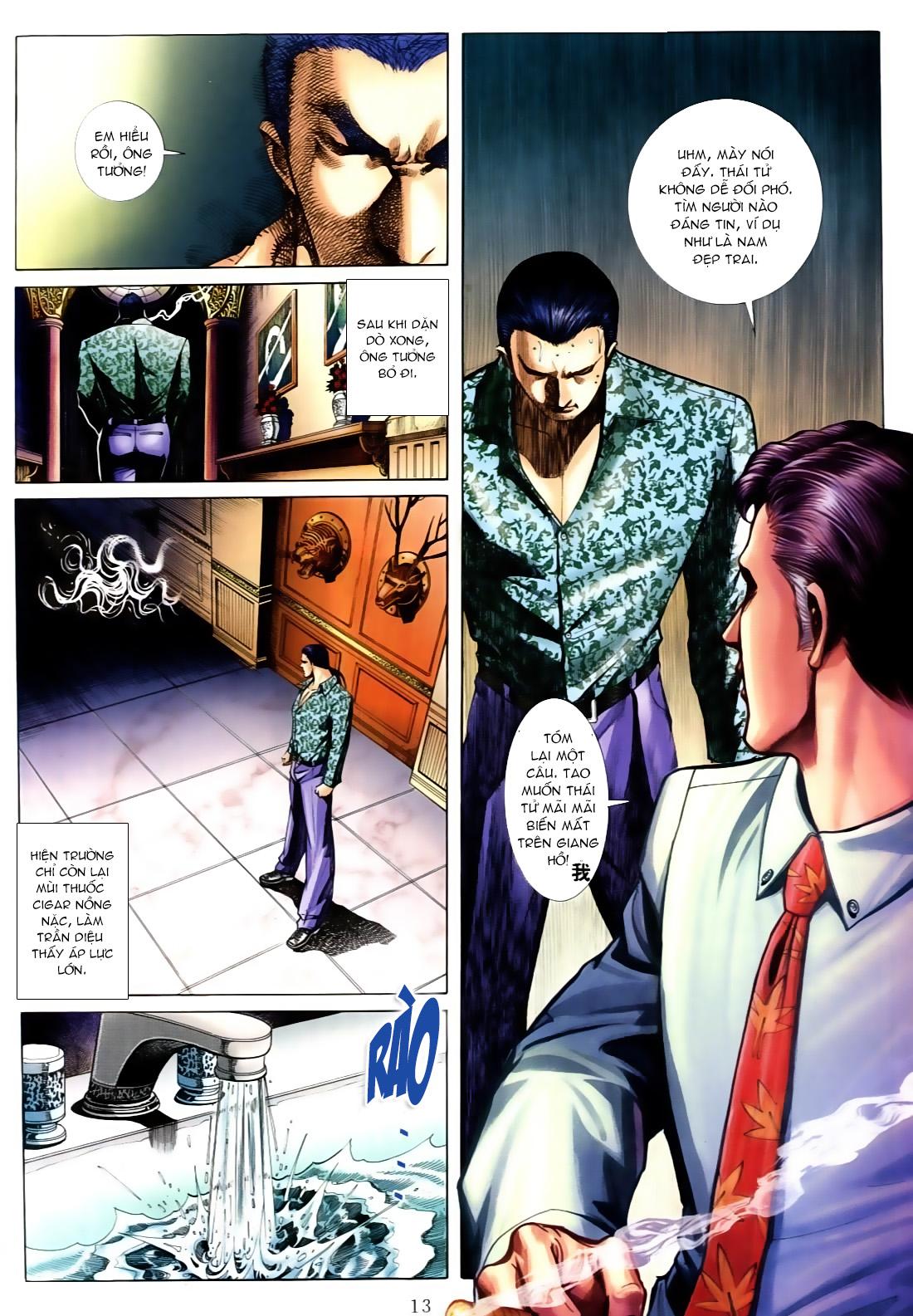 Người Trong Giang Hồ chapter 556: làm khó nam đẹp trai trang 7