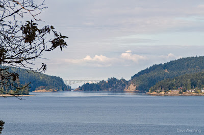 Deception Pass from the  North Trail, Kukutali Preserve
