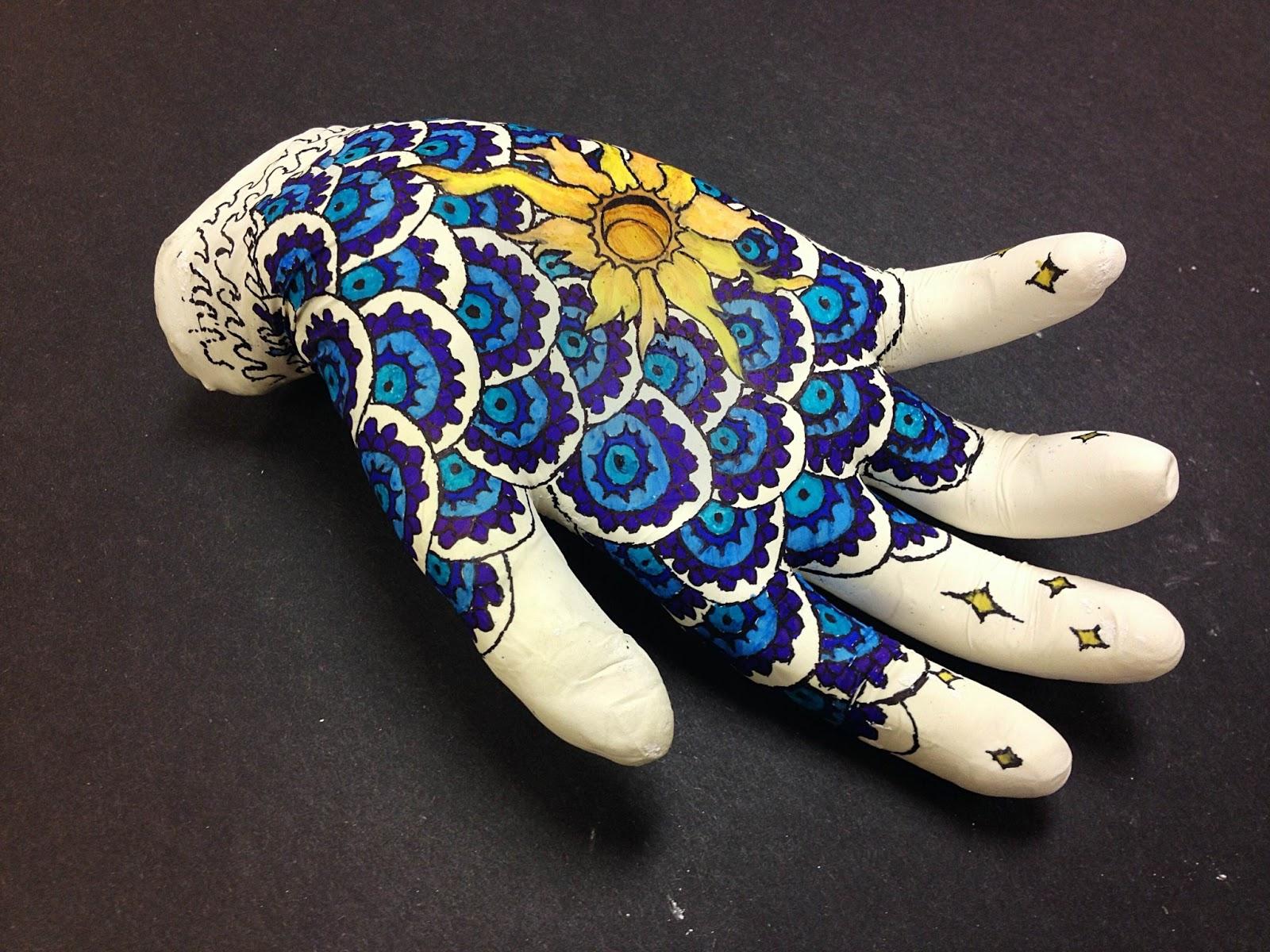 Dream Pray Create Lesson Idea Mehndi Hand