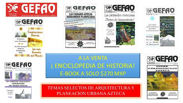 Enciclopedia de historia de México antiguo, Revista GEFAO