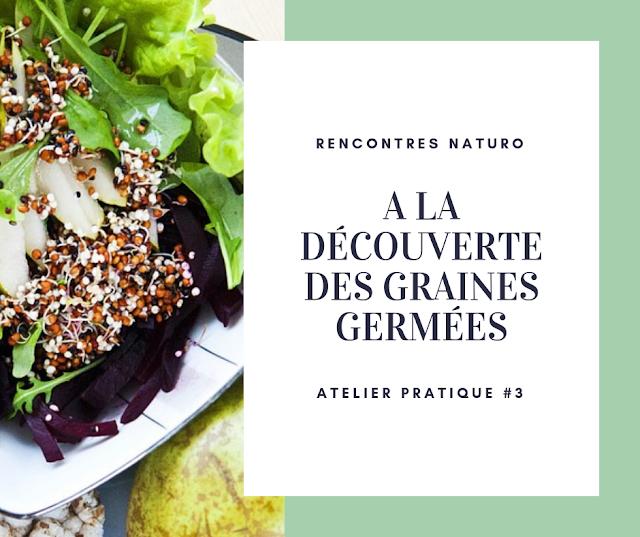 #3 A la découverte des graines germées - Annecy-le-Vieux