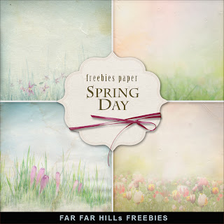 Freebies Backgrounds Kit - Spring Day