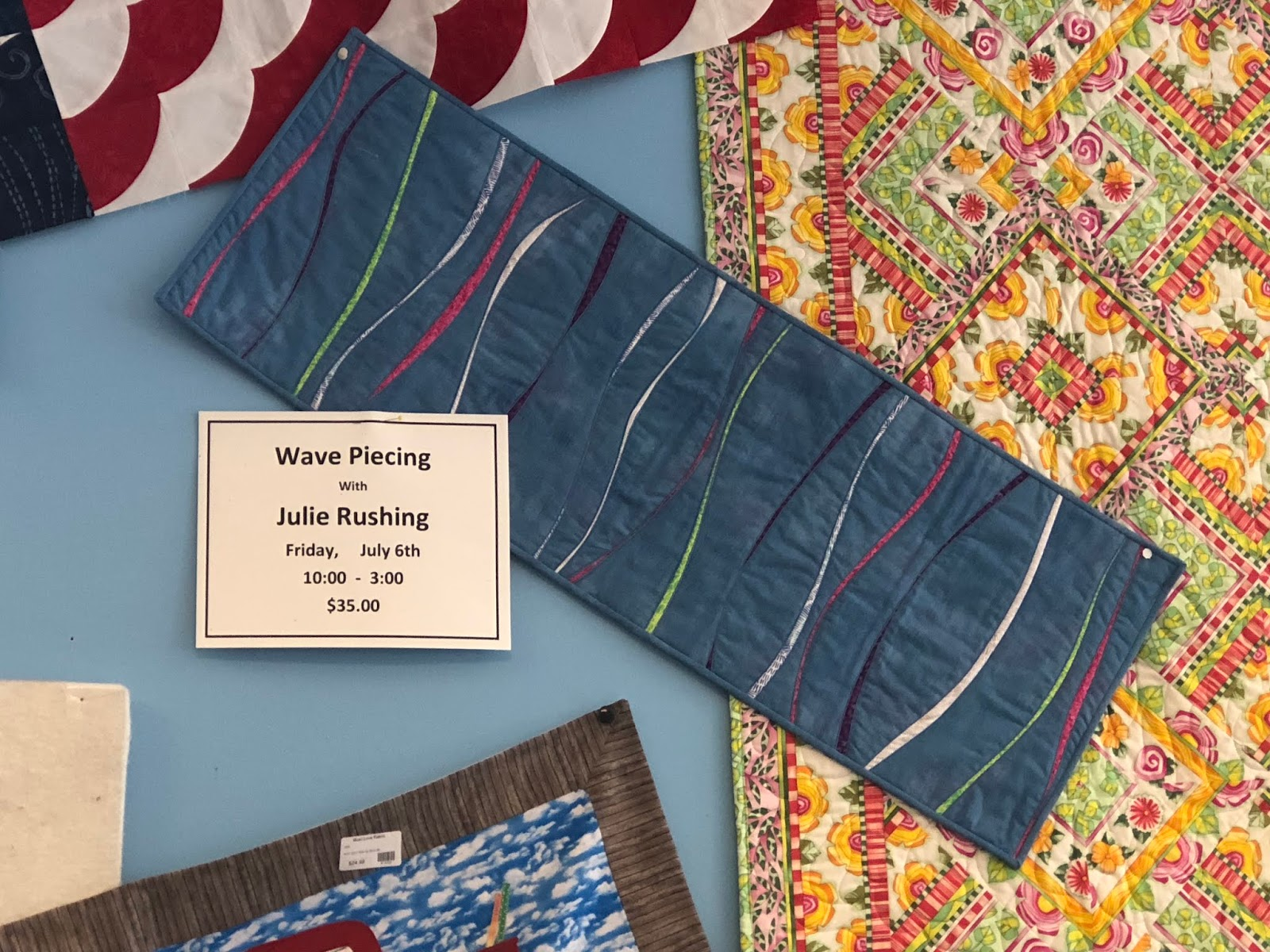 There Have Been Several Requests From Other Quilters To Learn