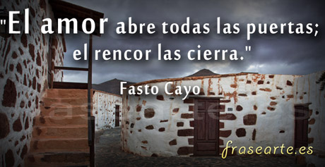 Citas de amor, Fasto Cayo