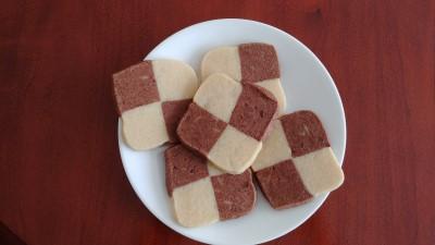 Yum Yum Checkerboard Icebox Cookies