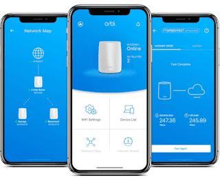 Orbi Smart Home Mesh WiFi System