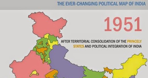 SENTHIL KUMAR: Changing Political Map of India (1951 - 2014)