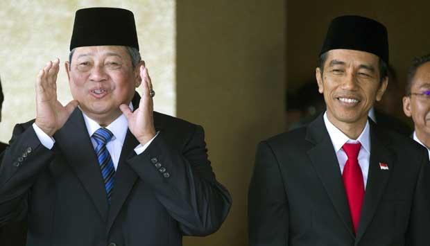 Jokowi dan SBY kerap saling sindir di media