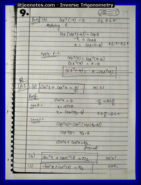 inverse trigonometry function3