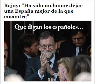 Rajoy se va. Blog Cuba, Isla Mía