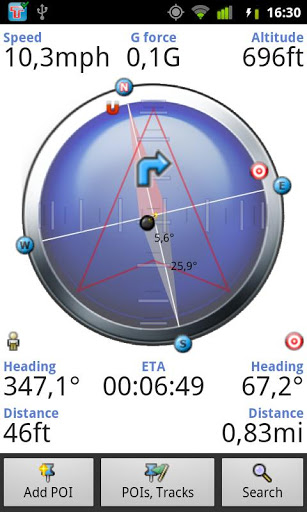 GPS Compass Free – Search and Navigate Easily