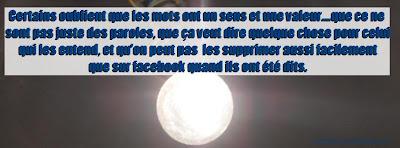 Statut facebook