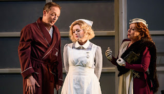 Robin Blaze, Fflur Wyn, Rebecca Evans - Handel Orlando - Welsh National Opera - photo Bill Cooper