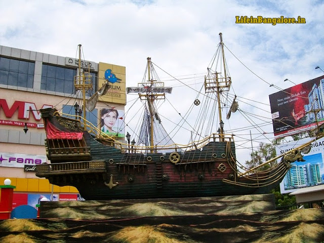 Pirates of the Carrebean Promotion ship