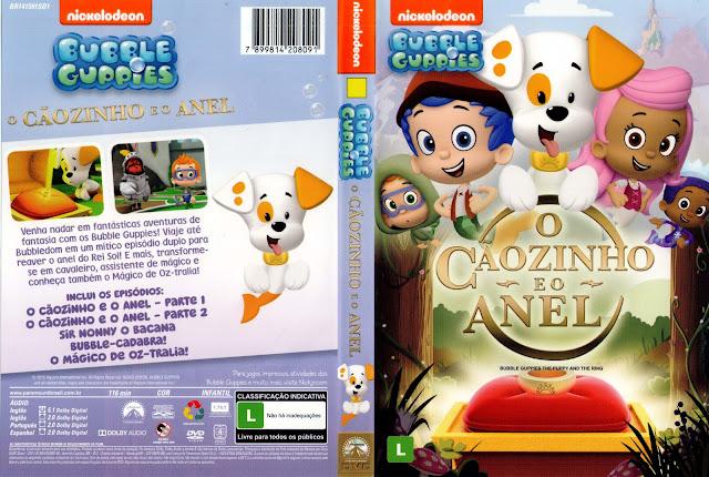 Capa DVD Bubble Guppies O Caãozinho E O Anel