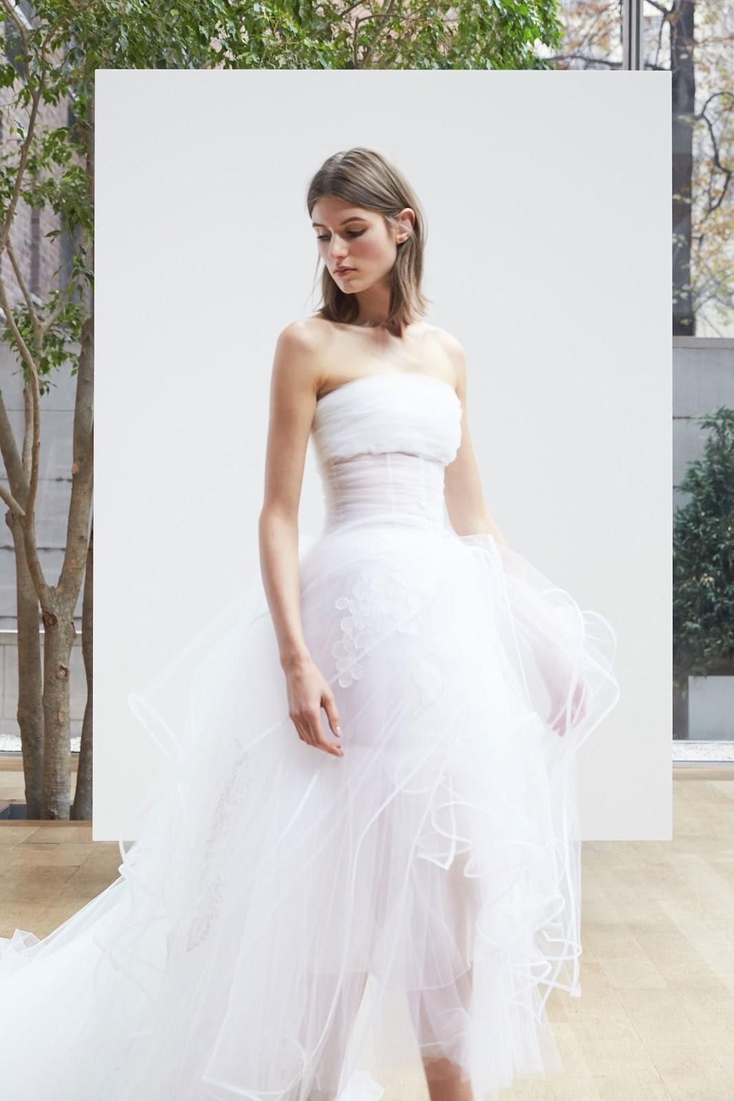 Wedding oscar de la renta bridal spring 2018 cool chic style wedding oscar de la renta bridal spring 2018 junglespirit Image collections